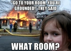 room grounded