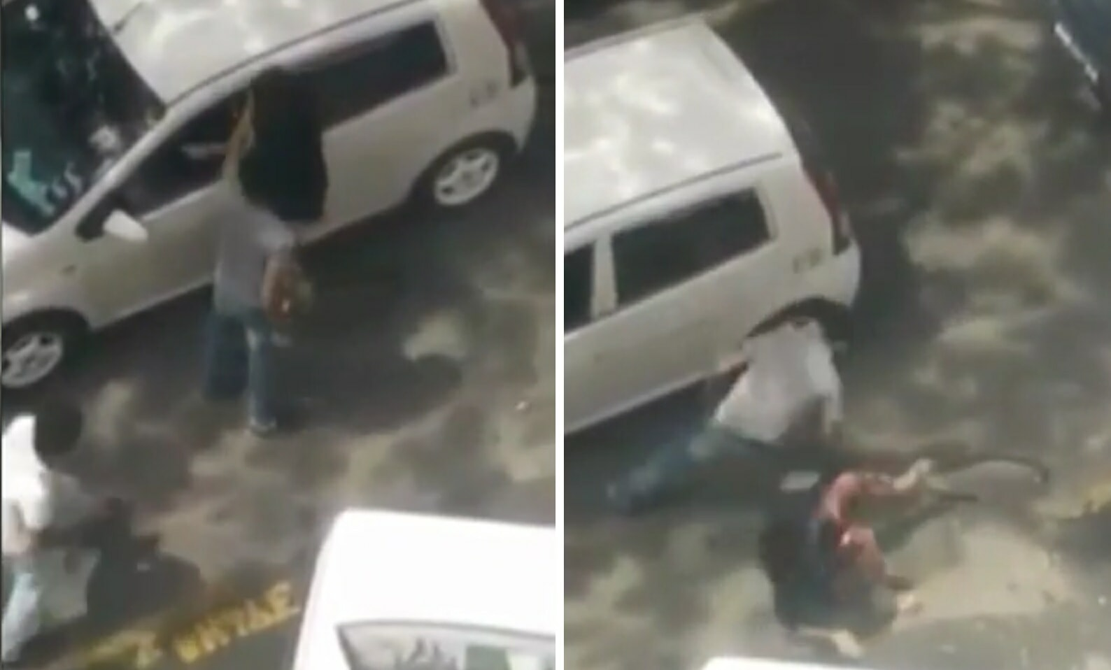 Man Beats Up Wife Outside Kota Kinabalu Airport Caught on Video - World Of Buzz