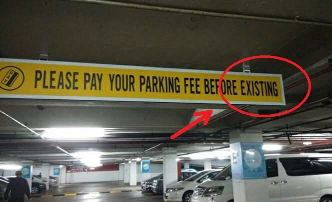 11 Times Malaysian Signs Failed Their Engrish - World Of Buzz 1