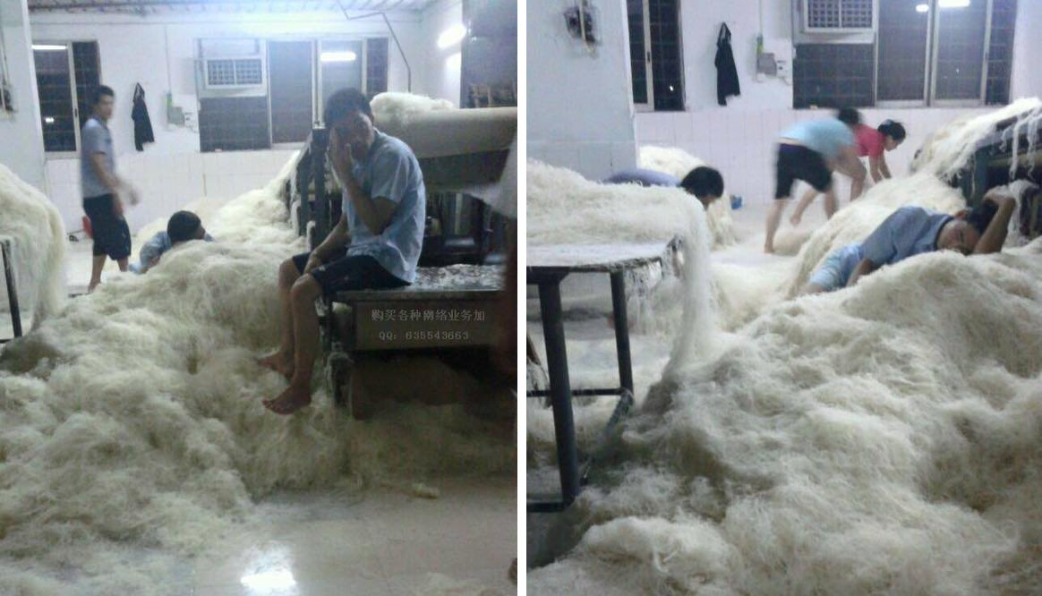 These Shocking Images of A Mee Hoon Factory Will Make You Never Eat Them Again - World Of Buzz