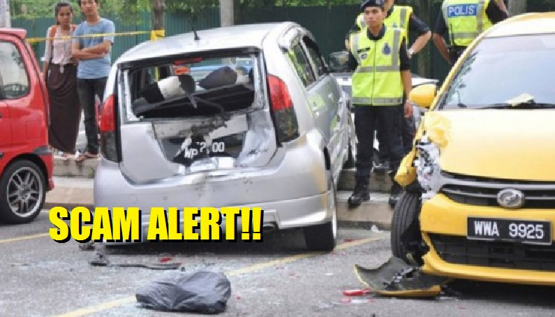 Beware of This Car Accident Scam in Malaysia - World Of Buzz