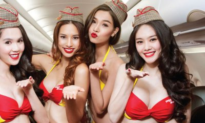 """Bikini Airline"" Is a Thing in Vietnam and It's Owned By a Female! - World Of Buzz"