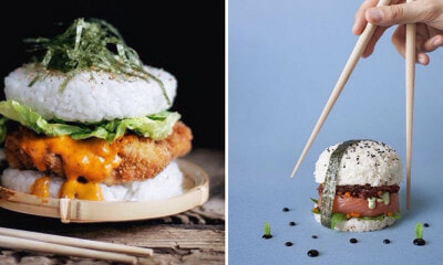 Sushi Burgers Are Sweeping The Internet And Everyone Wants A Piece of It - World Of Buzz 14