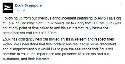 Zouk's International Guest DJ Forced To Stop Playing So Najib's Son Can Perform - World Of Buzz 1