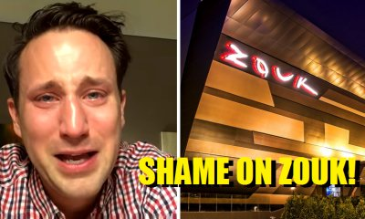 Bouncers in Zouk Club 'Stole' Amputee's Crutches, Resulted Him in Tears - World Of Buzz 5