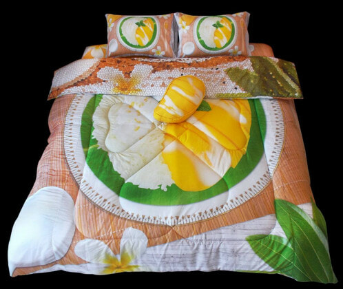 Crazily Creative Food-Themed Bedsheet And Pillows That Will Make You Drool At Night - World Of Buzz 4