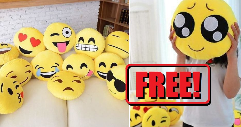 Malaysians Can Now Claim These Emoji Pillows for FREE! - World Of Buzz 5