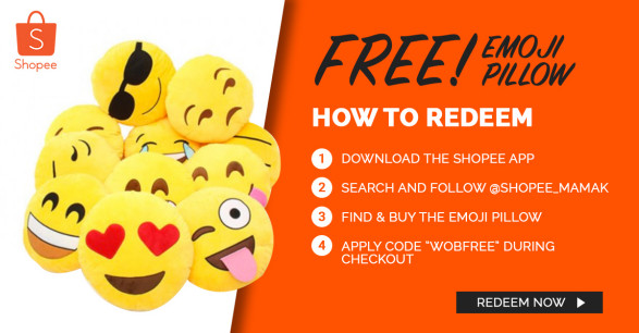 Malaysians Can Now Claim These Emoji Pillows for FREE! - World Of Buzz 6