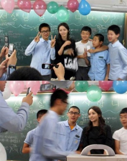 She's Probably the Most Beautiful Teacher in Korea and She Teaches in an All Boys' School! - World Of Buzz