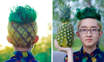 "The ""Pineapple Haircut"" May Be The Next New Thing To Sweep The World - World Of Buzz"