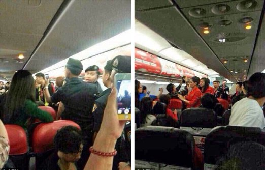 Chinese Passenger Threw HOT Water From Cup Noodle at AirAsia Flight Attendant - World Of Buzz