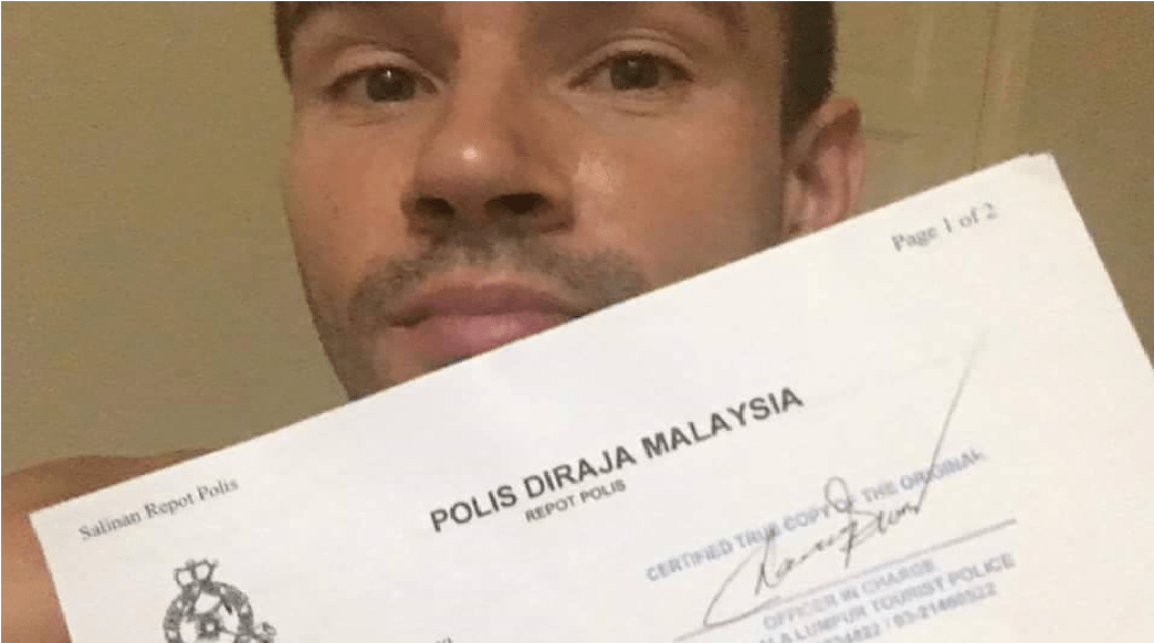 Distraught Traveller Turns To Social Media After Malaysian Police Didn't Look Helpful - World Of Buzz