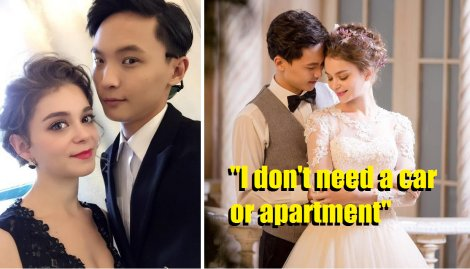 French Girl Marries Chinese Guy Saying She Does Not Need a Car or Apartment, But Only Love - World Of Buzz