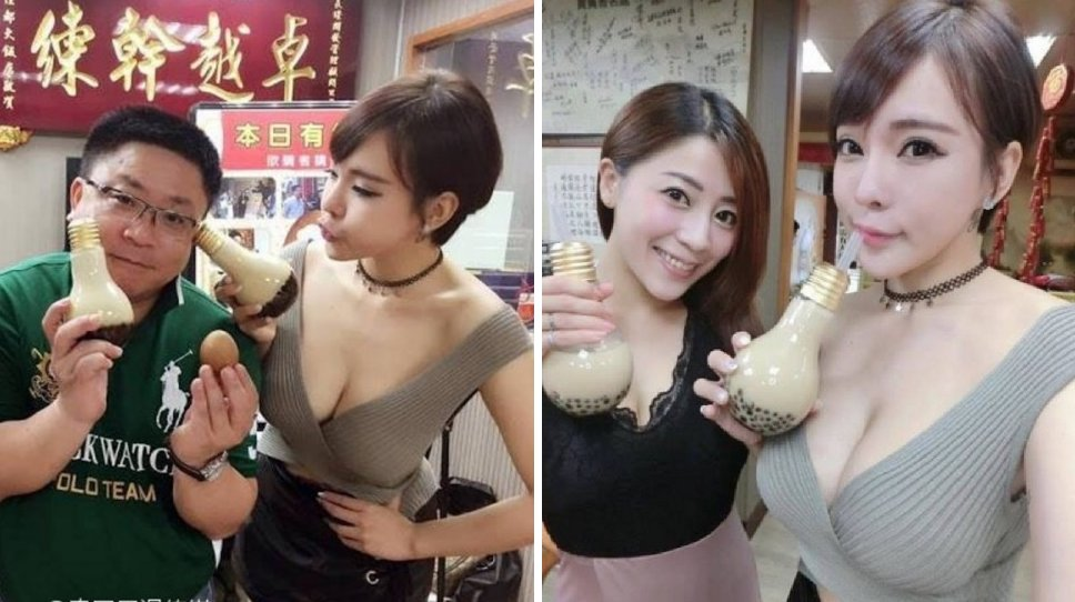 Hot Ladies Want You To Try Their Bubble Tea and Are Going Viral For Their 'Business Strategy' - World Of Buzz