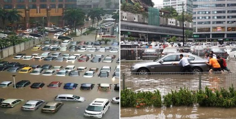 People in Klang Valley May Want To Think Twice Before Driving Thier Cars Out - World Of Buzz