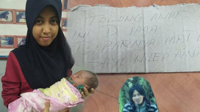 Baby abandoned with RM15 and a picture of the father - World Of Buzz