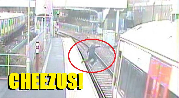 Girl Jumps In Front of Oncoming Train To Retrieve Dropped Phone - World Of Buzz 3