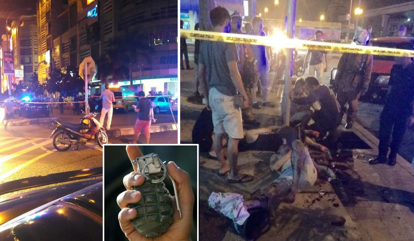Hand grenade Thrown in Puchong, 8 Injured - World Of Buzz 1
