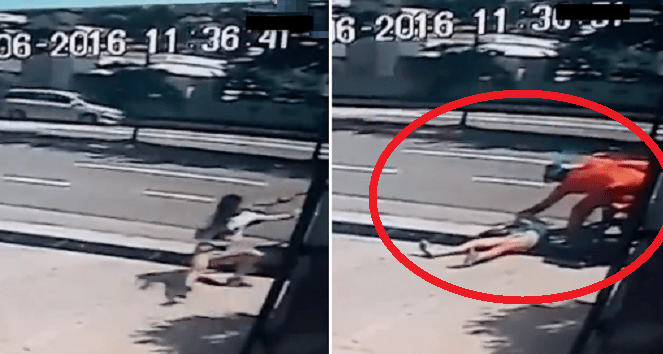 Instead of helping, motorist who stopped beside snatch theft victim left everybody shocked - World Of Buzz 9