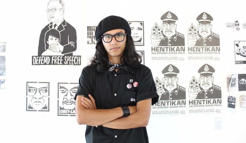 Malaysian Artist, Fahmi Reza Boldly Stands Up Against PM Najib and Cronies - World Of Buzz