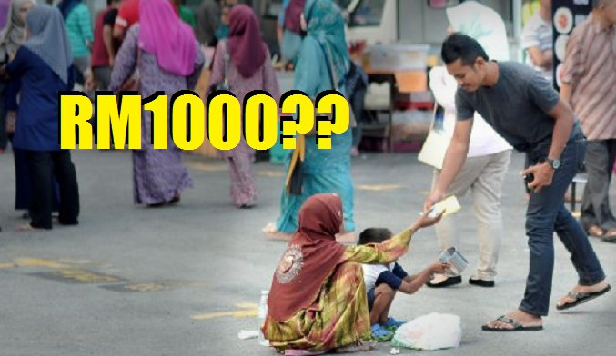 Malaysian Beggars Are Earning Up to Whopping RM1,000 A Day - World Of Buzz