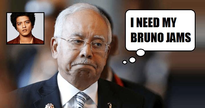 "Najib: ""I love Motown music"", Reveals His Playlist of Bruno Mars and Stevie Wonder - World Of Buzz"