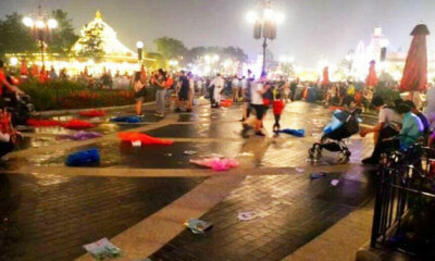 ShangHai Disneyland Literally Opened and Already Trashed by Chinese Tourists - World Of Buzz