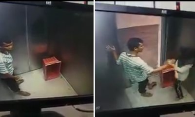 Sick Pervert Caught Molesting Malaysian Girl in Elevator - World Of Buzz