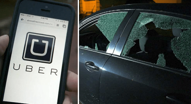 Tourists Get Caught Up Between Uber and Taxi Driver Fight in KL Sentral - World Of Buzz 1