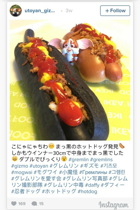 Bigger, Darker, Longer; Black hot dogs now available at Ikea Japan - World Of Buzz 4