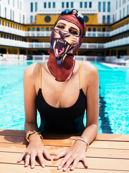 Bikini's Are Ditched In Favour of Face-kini's This Summer in China - World Of Buzz 3