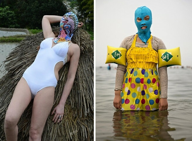 Bikini's Are Ditched In Favour of Face-kini's This Summer in China - World Of Buzz 6