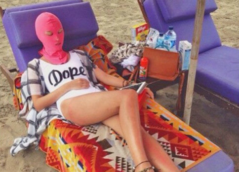 Bikini's Are Ditched In Favour of Face-kini's This Summer in China - World Of Buzz
