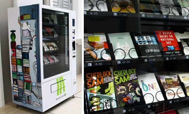 Book vending machines are now a thing in Singapore - World Of Buzz 5