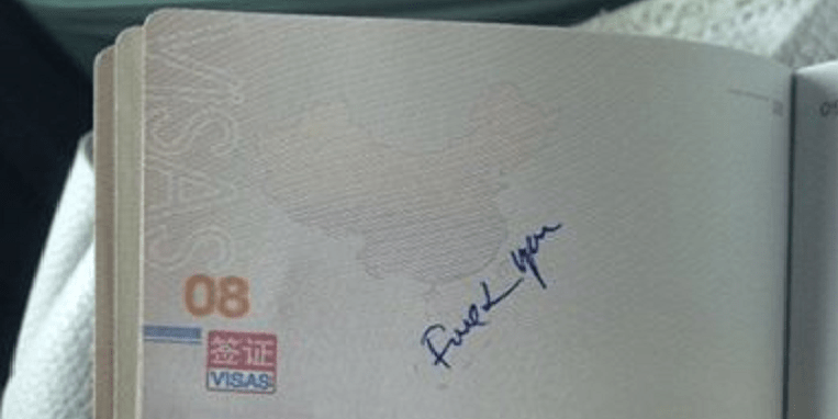 Chinese Woman's Passport had 'F*** You' Written by Vietnamese Custom Officers - World Of Buzz