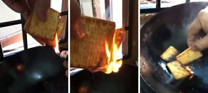 Debate On Whether Hup Seng Cream Crackers Contain Flammable Plastic Is Getting Netizens Fired Up - World Of Buzz 2