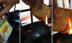 Debate On Whether Hup Seng Cream Crackers Contain Flammable Plastic Is Getting Netizens Fired Up - World Of Buzz 4