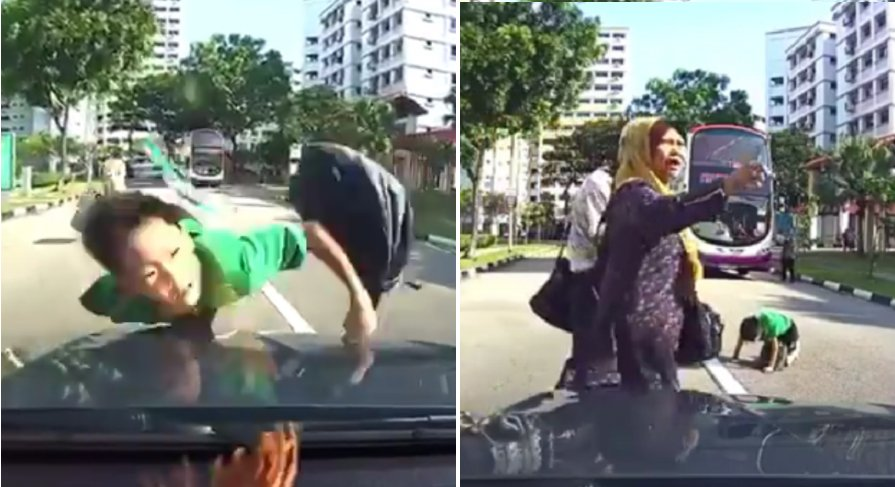 Driver naturally blamed after hitting a kid that dashed across the road - World Of Buzz 13