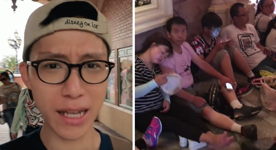 Dude Goes To Shanghai Disneyland And Vlogs His Terrible Experience - World Of Buzz 10