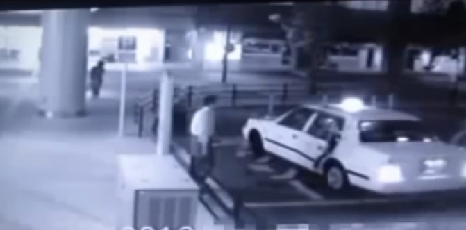 Eerie CCTV Footage Captures 'Ghost Passenger' Accompanying Man Into Taxi - World Of Buzz 2
