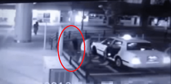 Eerie CCTV Footage Captures 'Ghost Passenger' Accompanying Man Into Taxi - World Of Buzz 4