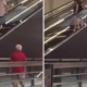 Elderly Peeping Tom Caught Looking Up Women's Skirts By Escalators! - World Of Buzz