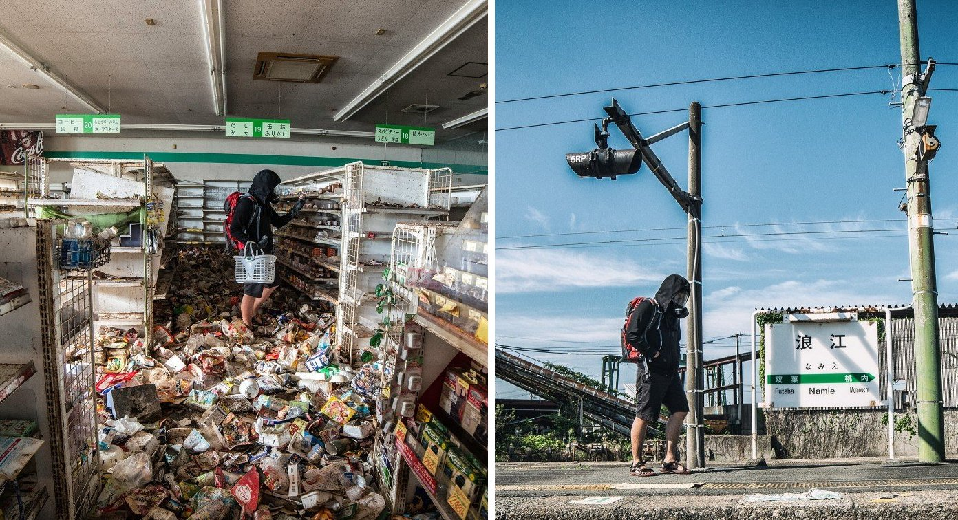 Malaysian Sneaks into Fukushima Exclusion Zone And Captures The Eerie Ghost Town - World Of Buzz 17