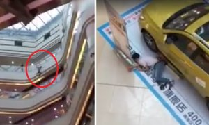 "Man Videoed Falling Six Storeys After Trying To Bluff Cinema Staff Who Tells Him ""Go Die"" - World Of Buzz"