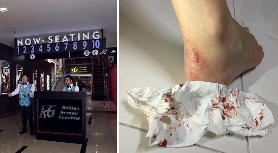 Moviegoer in GSC Malacca Receives Shock of His Life When His Foot Was Bitten By a Rat - World Of Buzz 1