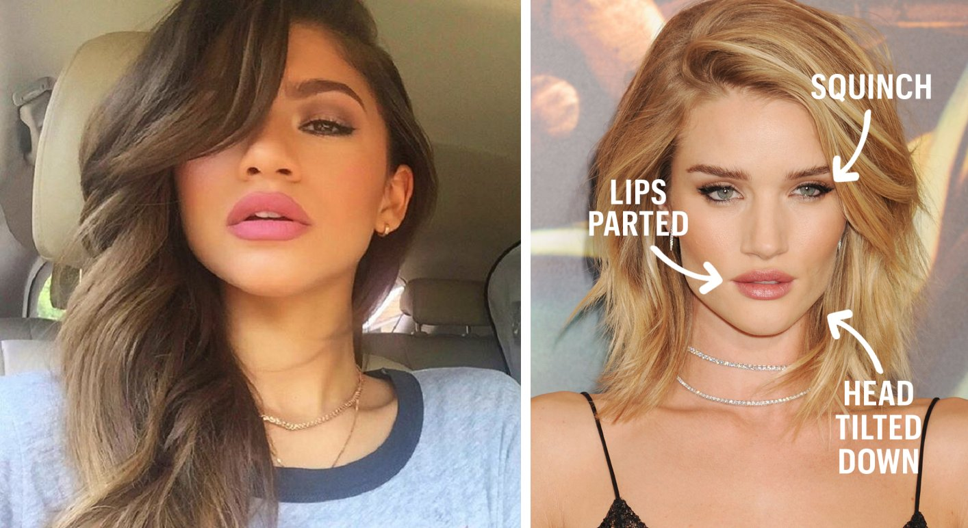 Say Goodbye to the Duck Face, and Hello to the New 'Fish Gape' - World Of Buzz