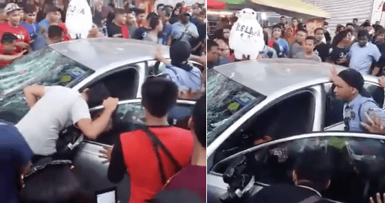 Senior Citizen Attacked By Mob Over A 'Minor Accident' At A Ramadan Bazaar - World Of Buzz 11