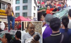 Senior Citizen Attacked By Mob Over A 'Minor Accident' At A Ramadan Bazaar - World Of Buzz 13