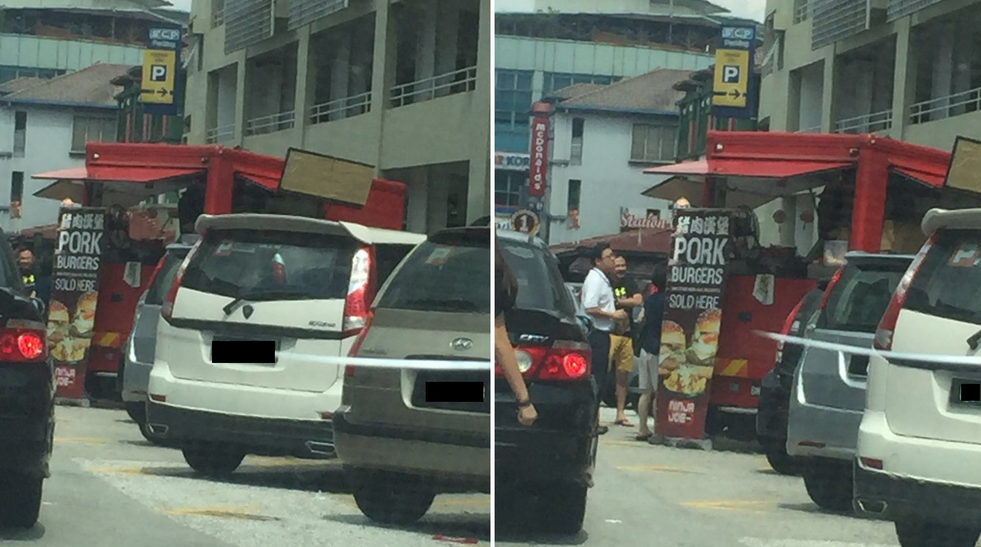 Some Malaysians are Outraged Over Foodtruck that Sells Pork Burger - World Of Buzz