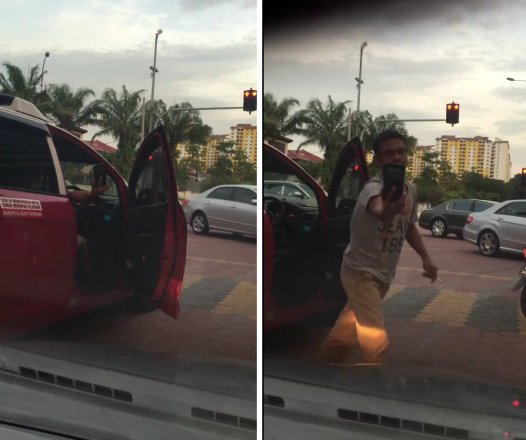 """Vulgar"" Taxi Driver Harasses Female Driver, Drives Recklessly and Takes Pictures of Her! - World Of Buzz 1"